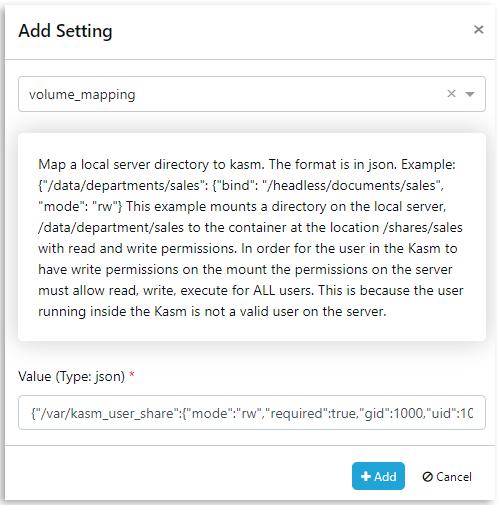 Kasm 1.6.0 Documentation